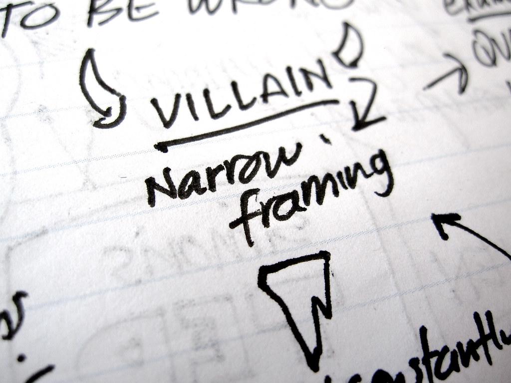 Narrow framing | Chip & Dan Heath at Inc. 500|5000 2012 | Think ...