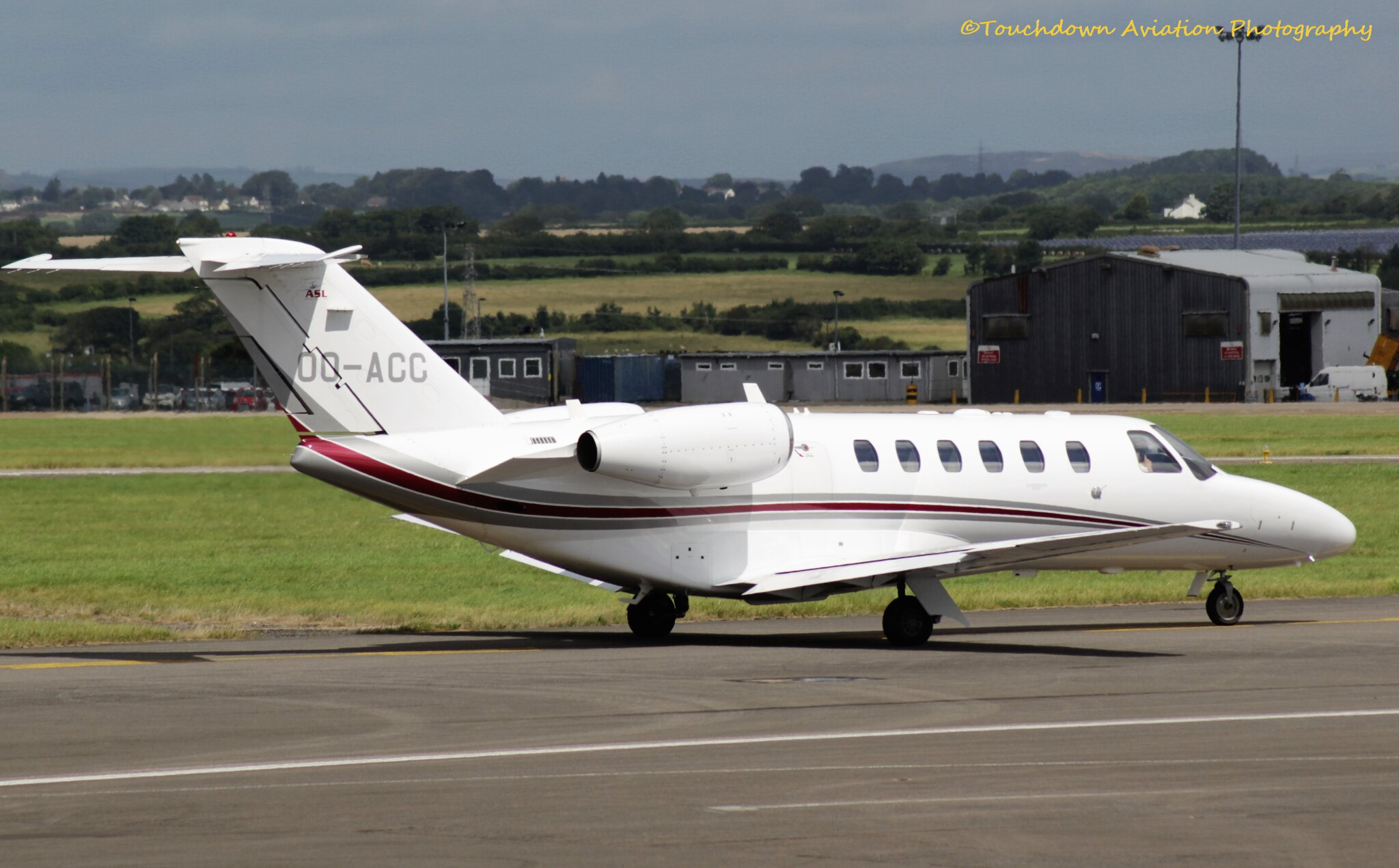 Cessna 525A CitationJet CJ2+ OO-ACC 04AUG16