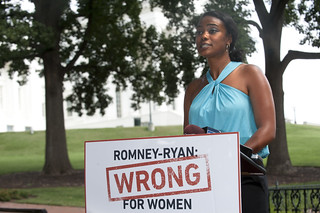 Actress Tatyana Ali (From Fresh Prince of Bel Air) Campaigns for President Obama | by Giarc80HC