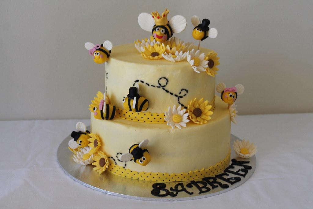 Bumblebee Birthday Cake Maryam Issadeen Flickr