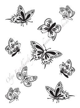 mehndi henna design butterflies 1 in this single pdf shee flickr