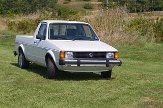 VW Rabbit Pickup | by coldwar_bonnet