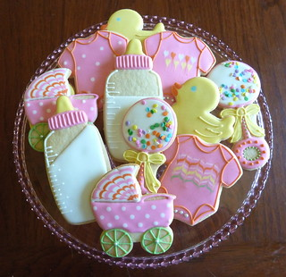 Baby Shower Cookies | by kelleyhart