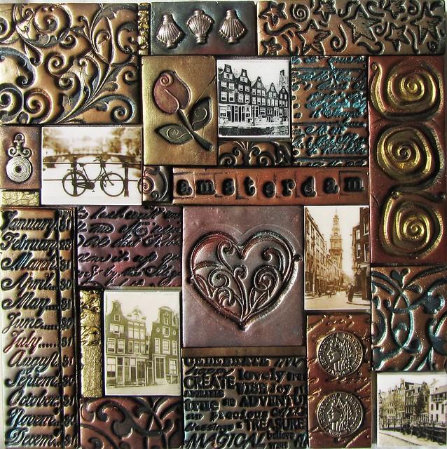 Amsterdam I - polymer clay mosaic | Flickr - Photo Sharing!
