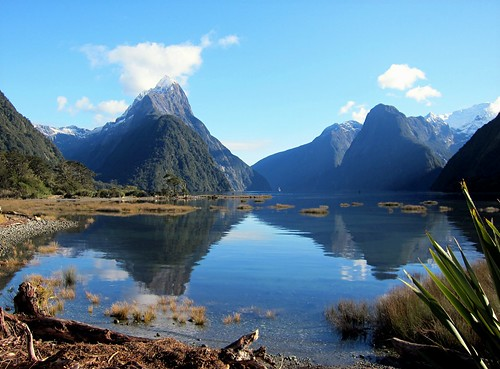 Mitre Peak, Milford Sound - NZ | by Mary Faith.