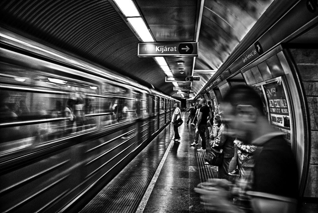 Metro Budapest Riccardo Nobile Flickr