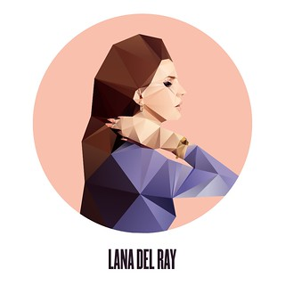 Lana Del Ray. | by cooeedesign