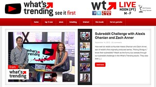 What's Trending with Shira Lazar | by stevegarfield