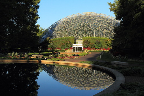 Climatron at sunrise | by scottrackers