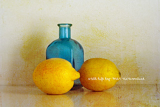 lemons with bottle | by Mat texturonline