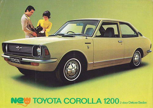 Ke20 Toyota Corolla 1200 Ke20 D E 54 O Printed In Japan