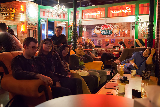 Friends At Central Perk Coffee Flickr Photo Sharing