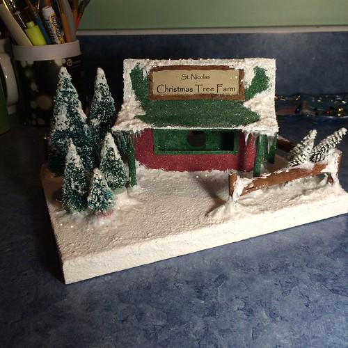 Putz Christmas Tree Lot