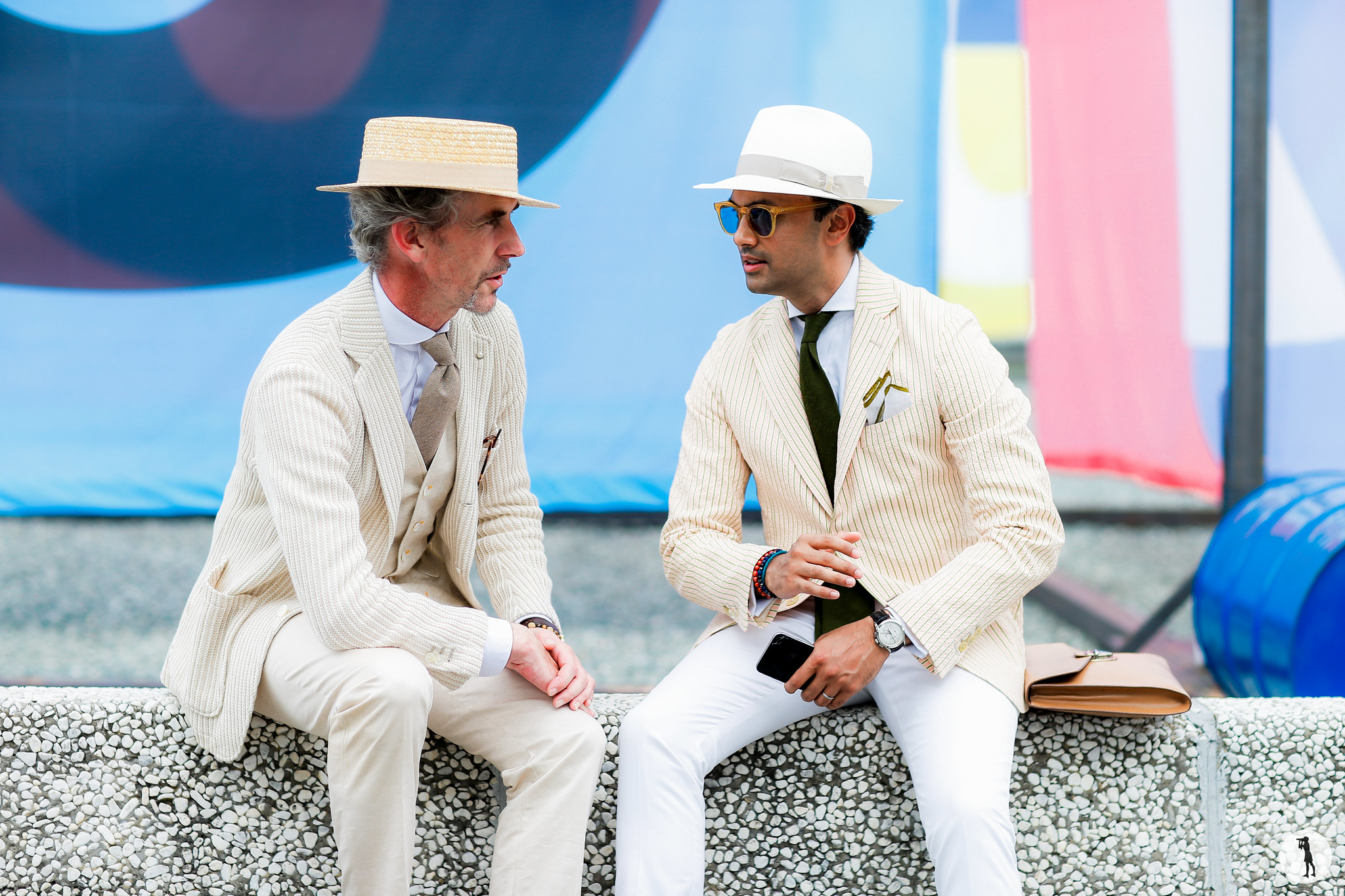 Guillaume Bo and Samir Imran - Pitti Uomo 90 (1)