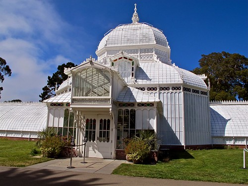 conservatory of flowers entrance | by Demetrios Lyras