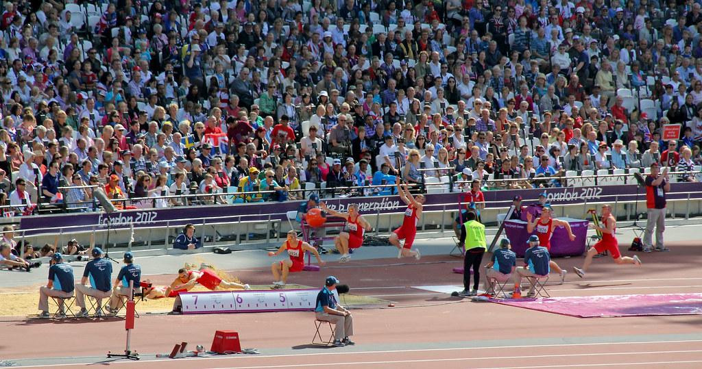 long jump sequence | Blind long-jump at Paralympics London ...