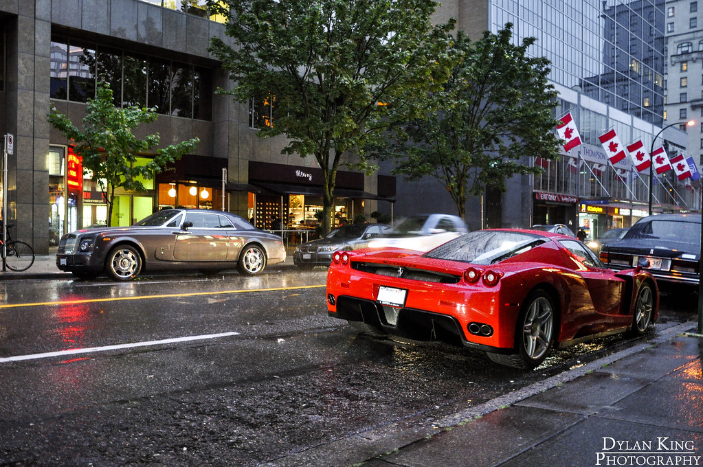 Ferrari Enzo Amp Rr Phantom Coupe Found This Enzo Parked