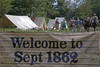 'Welcome to Sept 1862' -- Boonsboro (MD) Civil War Reenactment September 8-9, 2012 | by Ron Cogswell