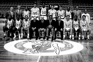 1980's Boston Celtics Team Photo | by satdishguy