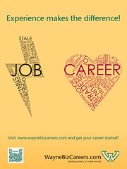 WayneBizCareers: Job vs. Career | Art by: Remus Roman OOH po… | Flickr