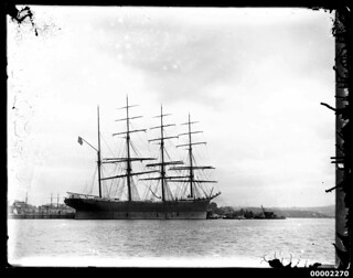 Four masted barque, Sydney Harbour | by Australian National Maritime Museum on The Commons