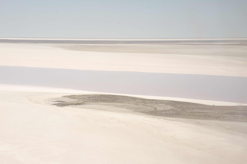 Lake Eyre and surrounds from the air