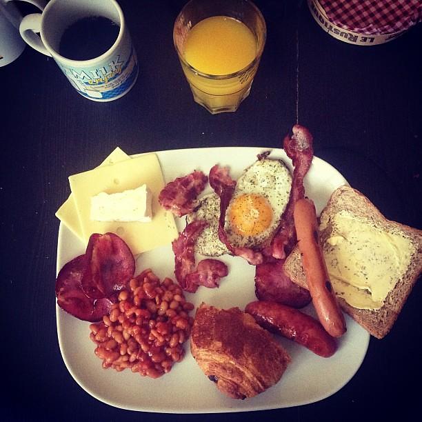 Brunch maison petit d jeuner du lundi matin instagram for Petit dejeuner en amoureux maison
