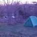 Shenandoah Campsite at Sunrise