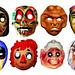 Devil and Bigfoot Masks 5099