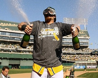 Jonny Gomes celebrates ... | by S.R. Breitenstein