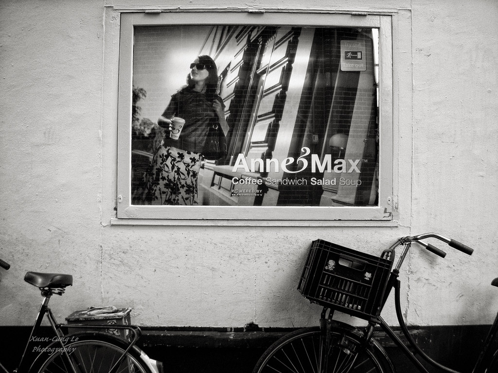 Parked Bike Amsterdam Holland Xuan Cung Le All Rights Re Flickr