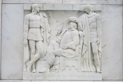 Henry IV-i marble carving Folger Library Washington DC 2012
