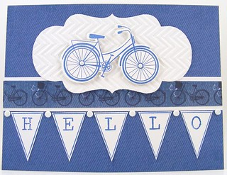 Hello Bicycles Card | by theladystamper2009