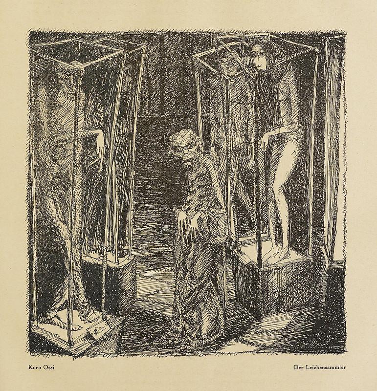 Der Orchideengarten - 1919, Koro Otei - Der Leichensammler