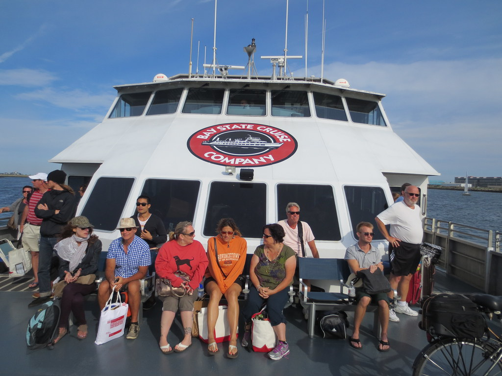 Bay State Cruises Company Fast Ferry From Provincetown To