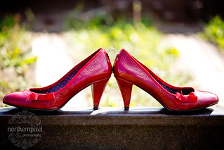 Wedding Ring & Red Wedding Shoes | by Shauna Stanyer (Northern Pixel)
