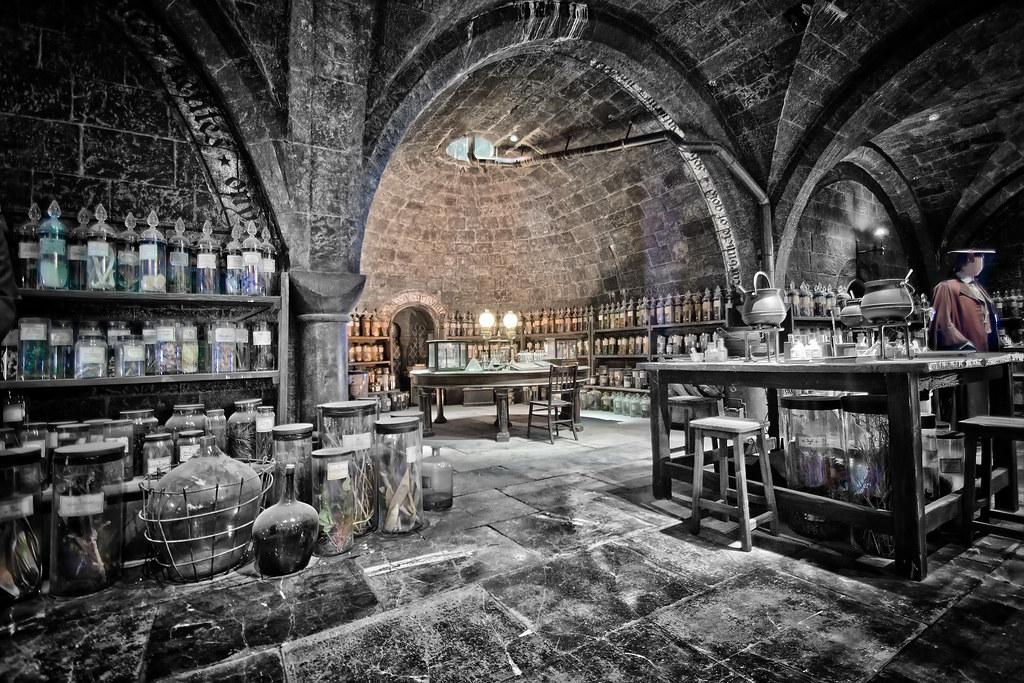 Harry Potter Potion Room Taken At The Harry Potter