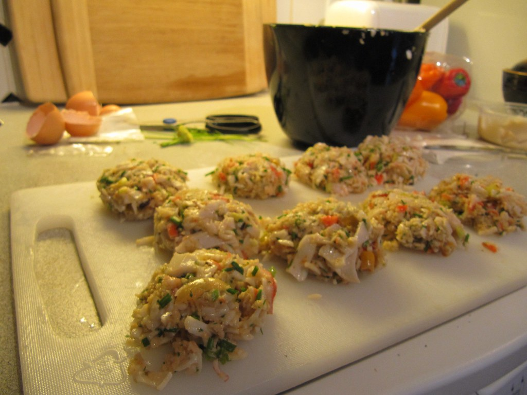 Cooking Crab Cakes In The Shell