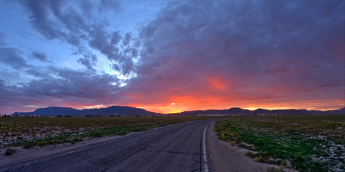 Sunrise over the Sandias, Kirtland AFB, NM - at 8mm | by Mitch Tillison Photography