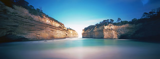 Loch Ard Gorge - Holga 120WPC | by thescatteredimage