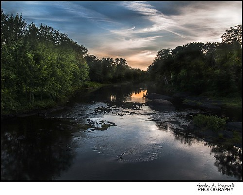 Black River at Dusk ( taken near Washago, Ontario) | by G. Maxwell