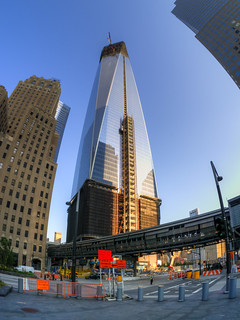 Vesey Street Fisheye (P1370003_4_5_6_7_tonemapped) | by Michael.Lee.Pics.NYC