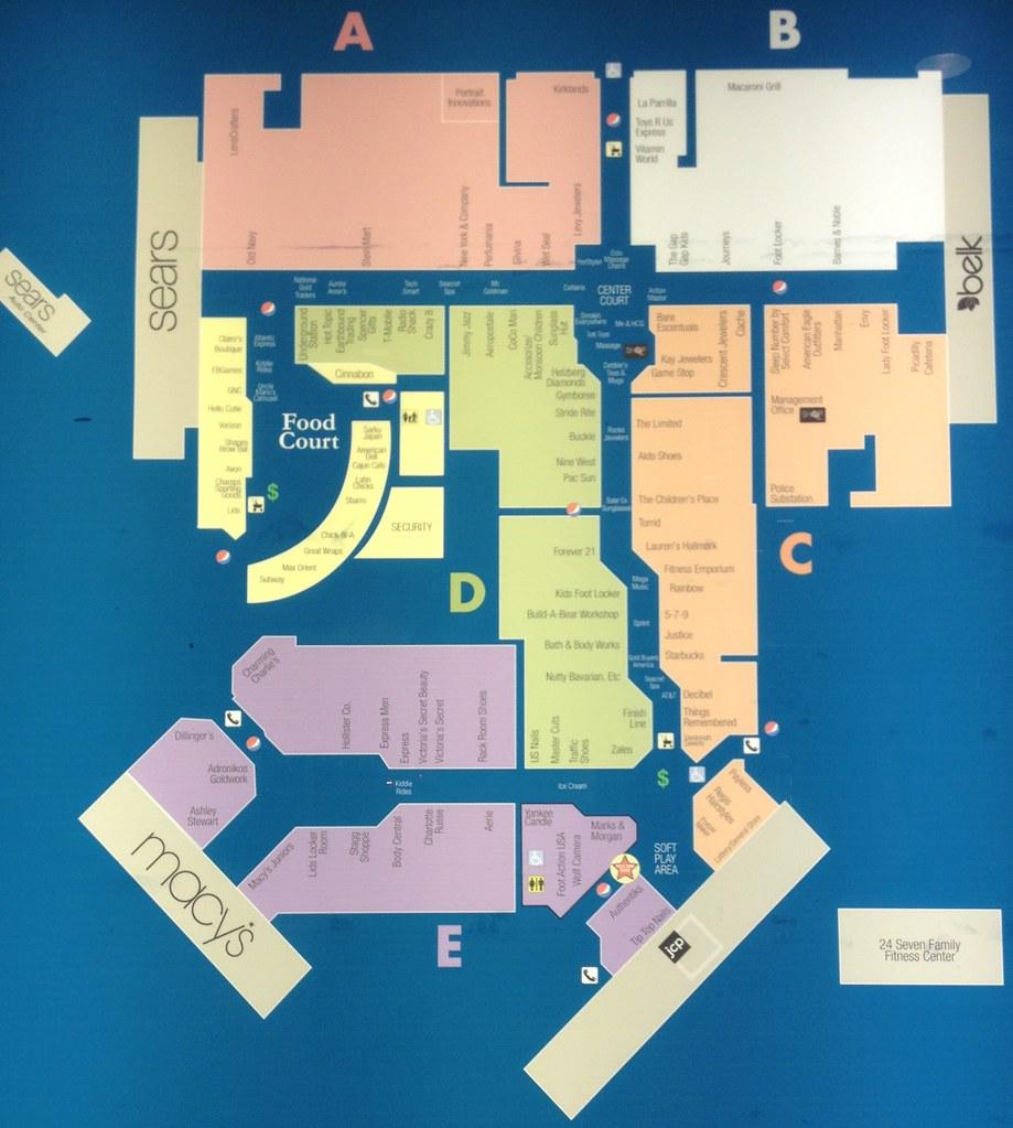 Oglethorpe Mall Directory Mike Kalasnik Flickr - Map of georgia mall