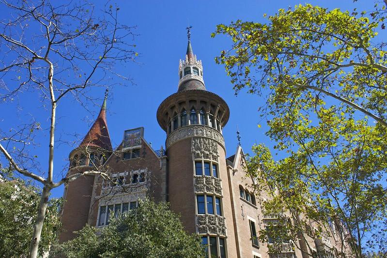 Casa Terrades (Casa de les Punxes) aka House of Spikes