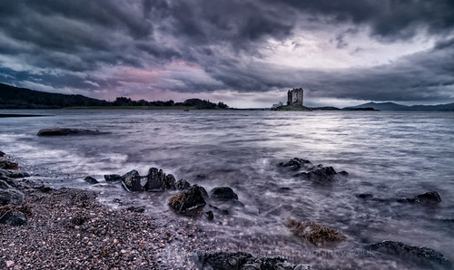 Castle Stalker, after the sun has set and the photographers gone | by milo42