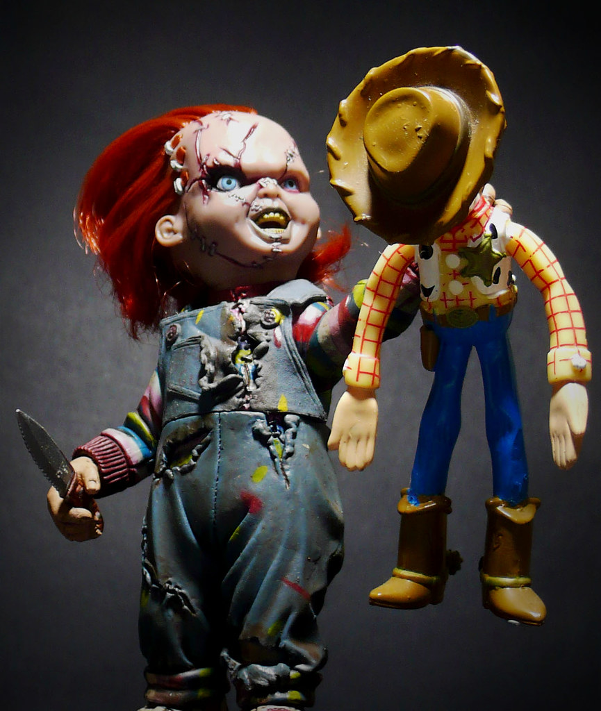 Jason Toys For Boys : Dark toy story revolution chucky who is woody