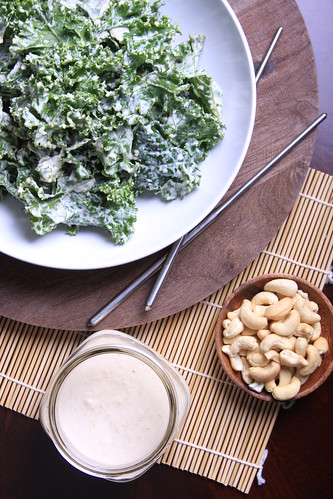 Olives for Dinner | Raw Tahini and Cashew Dressing | by Olives for Dinner