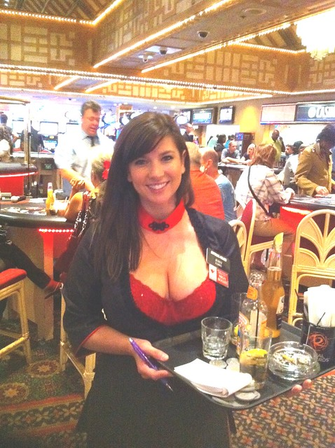 Casino waitress gambling communities