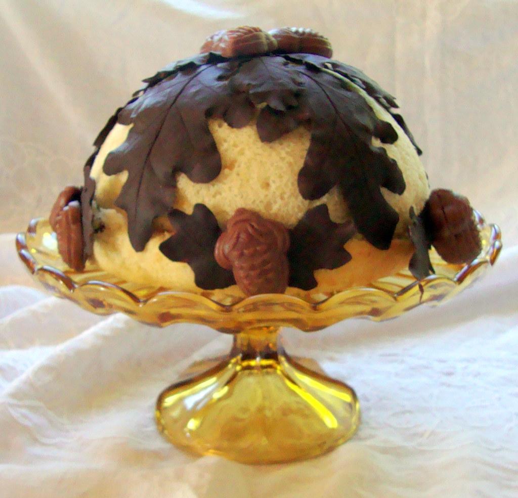 Chocolate Vanilla Mousse Cake