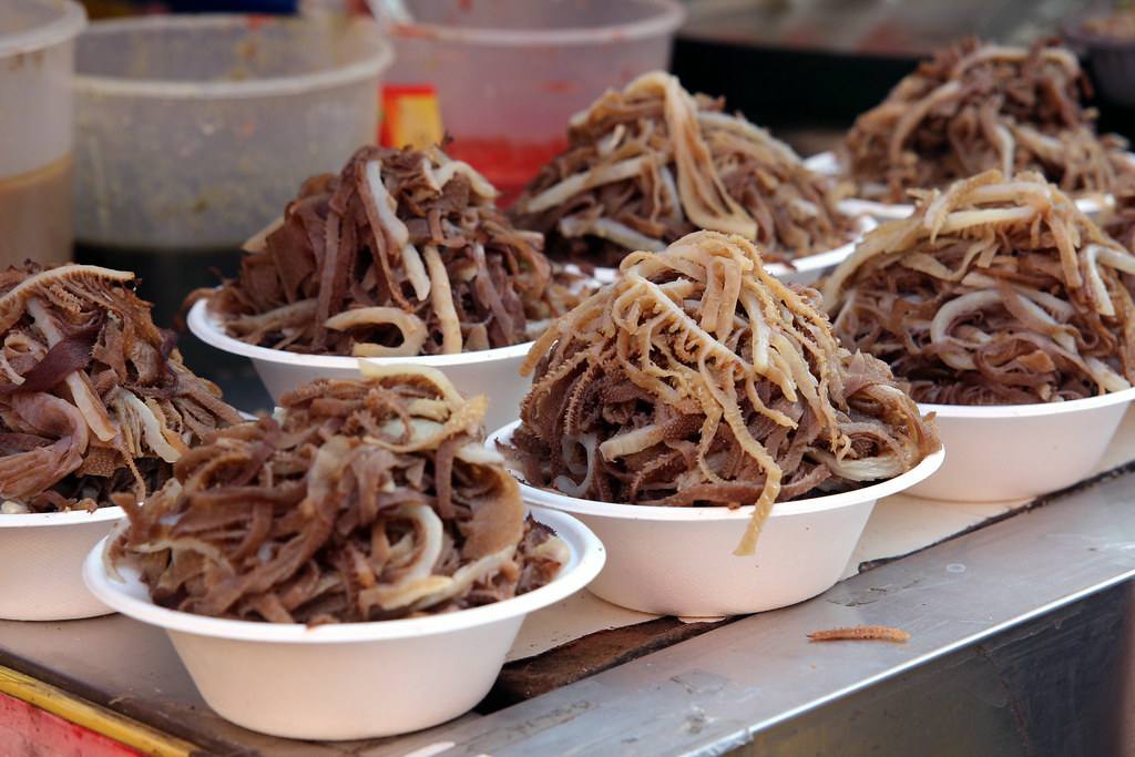 Bowls Of Cow Stomach Lining Mcolleague01 Flickr